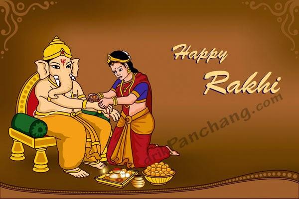 Raksha Bandhan Gods
