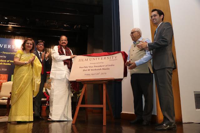 Inauguration of IILM University