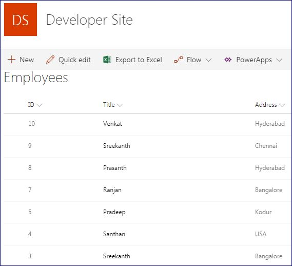 SharePoint: DataTable Custom Paging using REST in SharePoint