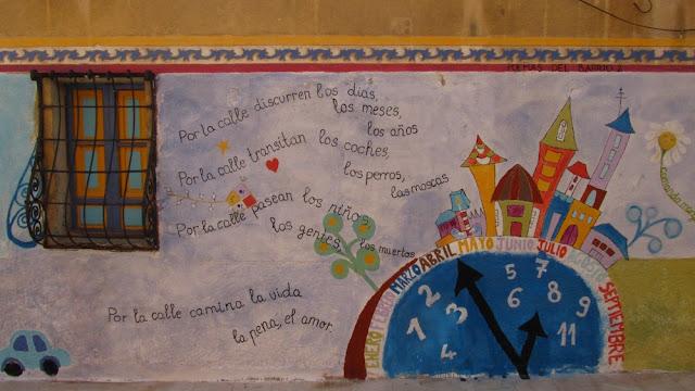 sztuka ulicy w Alicante