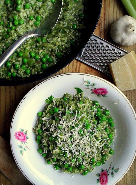 Zielone risotto / Green Risotto