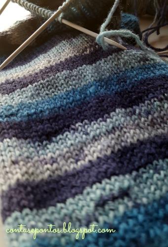 Meias de Outubro - meias em tricot