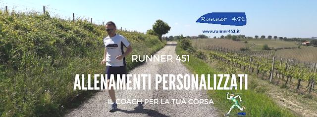 allenamenti personalizzati runner 451