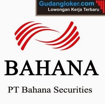 Lowongan Kerja PT Bahana Securities