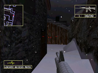 MujiBlank: Rainbow Six - Lone Wolf PS1