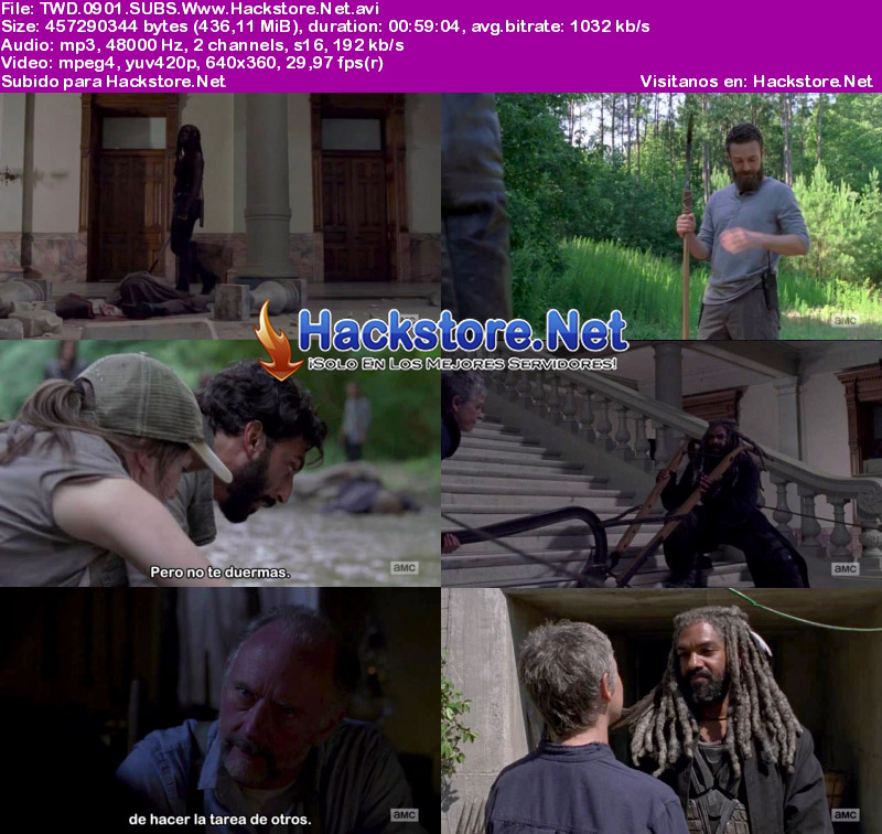 Capturas de The Walking Dead Novena Temporada Subtitulado