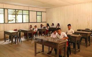 Sarana dan Prasarana Sekolah di Perbatasan Sungguh Memprihatinkan