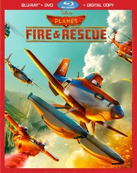 Planes: Fire & Rescue Blu-ray
