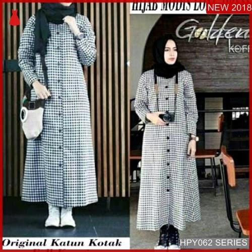 HPY062L176 Long Tunik Anak Hijab Murah BMGShop