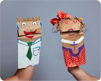 Puppets from Paper Bags