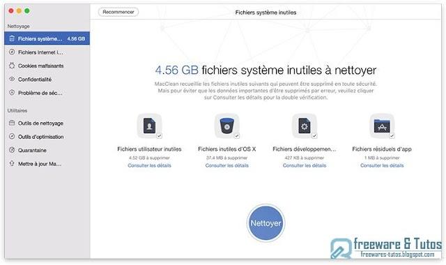 iMobie MacClean 3 : un nettoyeur multi-fonctions pour votre Mac