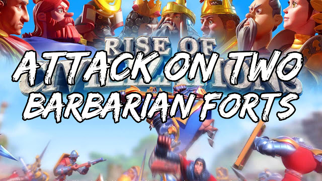 Rise Of Civilizations On PC • Joined The Attack On A Barbarian Fort, TWICE!