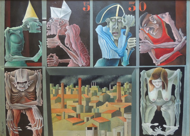 Rovira Brull pintura surrealista ítaca