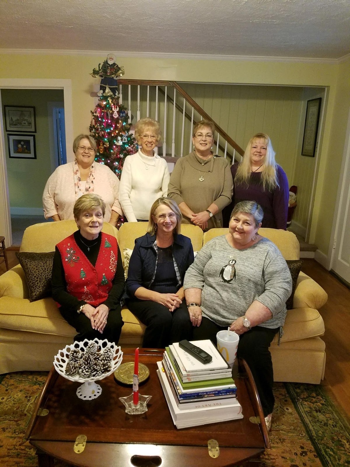 Christian Ladies Christmas Party Ideas Part - 37: On Saturday I Had The Privilege Of Joining These Ladies For Their First  Christmas Lunch Together. From Left To Right, Starting In The Back Row Are