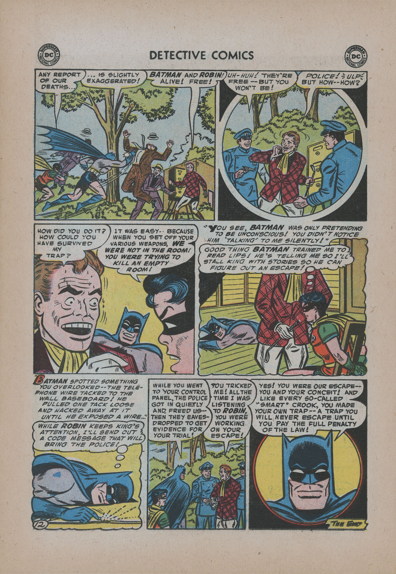 Read online Detective Comics (1937) comic -  Issue #221 - 14