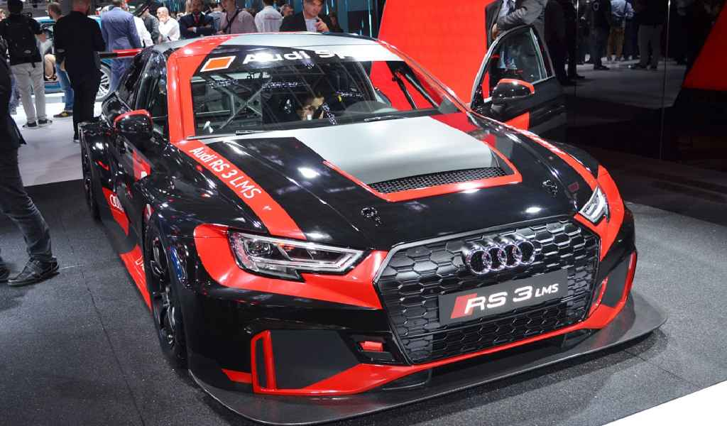 RS3 LMS, 2017's Hottest Cars.
