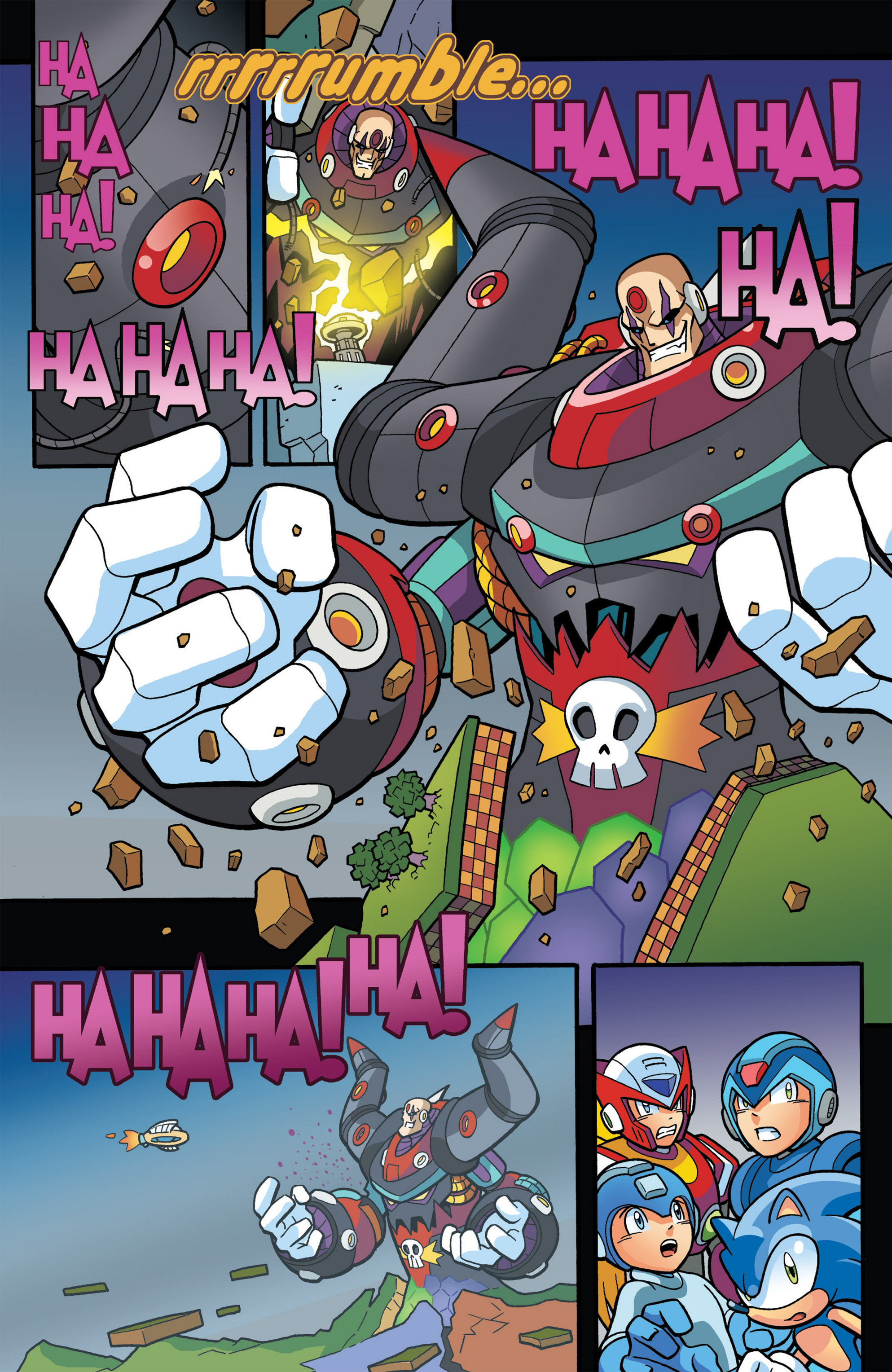Read online Sonic The Hedgehog comic -  Issue #274 - 21