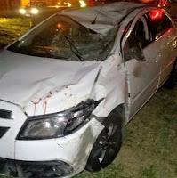 Picuiense colide veículo com animal na BR-104, em Remígio