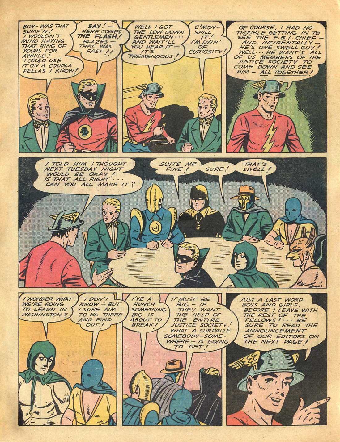 Read online All-Star Comics comic -  Issue #3 - 64