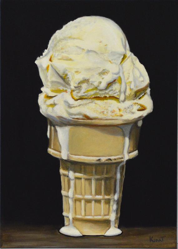 Acrylic Realism by Kim Testone: Daily Painting of Vanilla ...