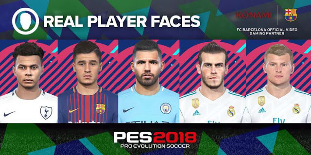 New Facepack Vol. 3 PES 2018