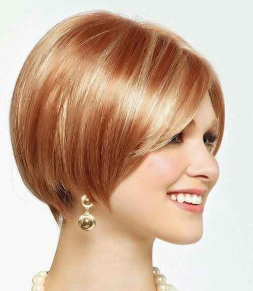 SHORT BLONDE HAIRSTYLES: Short bob hairstyles 2014