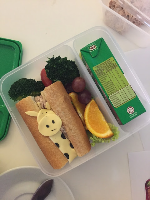 Some tips on bento making from the MILO Bento-making Workshop!