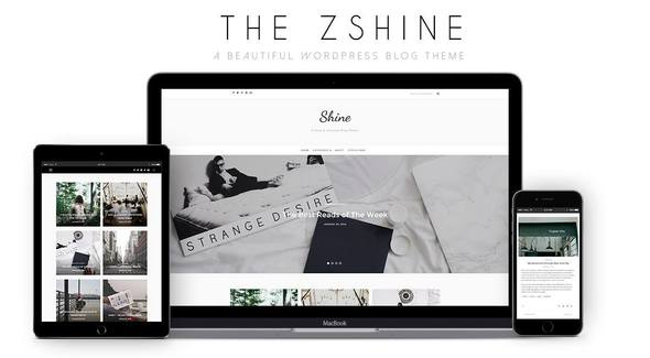 ShineBlog WordPress Theme Download Free