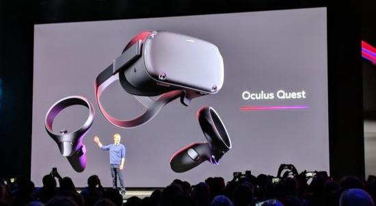 oculus quest VR sanal gerçeklik gözlüğü içindeki oyunlar
