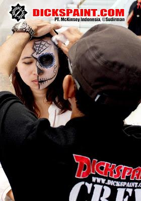 Face painting Horror Sugar Skull Jakarta