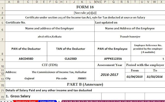 itaxsoftwarenet – Income Assessment Form