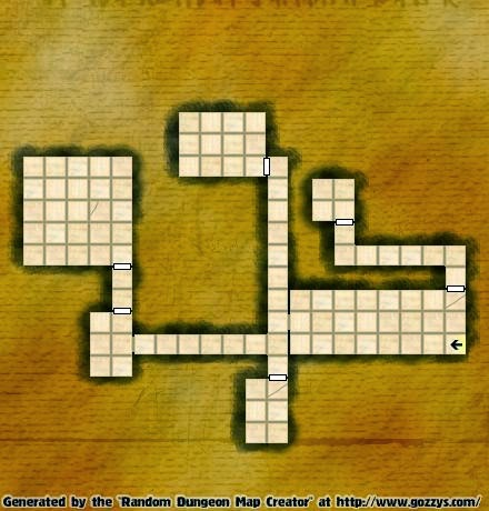 Free GM Resource: Gozzy's  Dungeon Map Generators