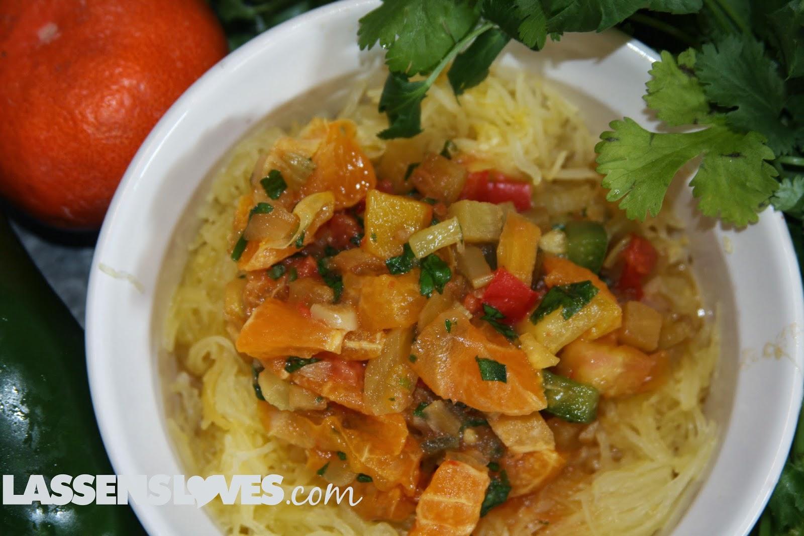 spaghetti+squash, mandarin+oranges, mandarin+recipes, vegetarian+recipes, vegan+recipes, paleo+recipes