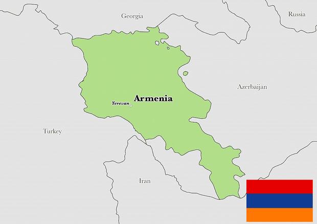 Peta Armenia