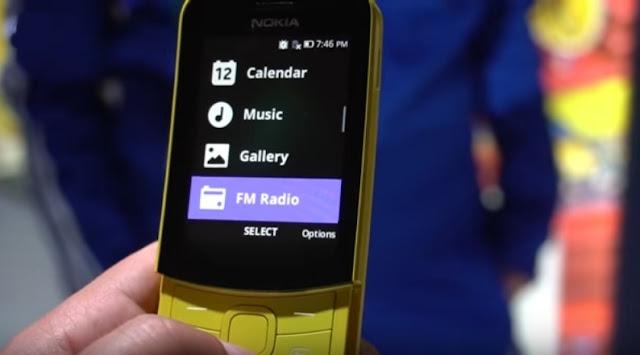 Spesifikasi Lengkap Nokia 8110 4G