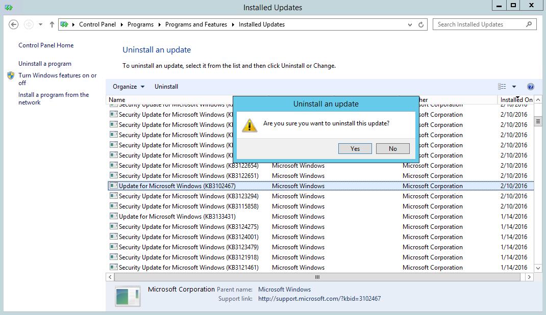 How to Uninstall .NET Framework 4.6.1   The EXPTA {blog}