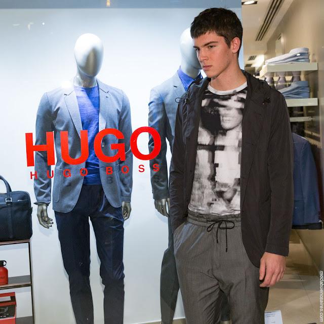 MODA HOMBRE 2018: HUGO BOSS PRIMAVERA VERANO 2017 - 2018 Argentina.