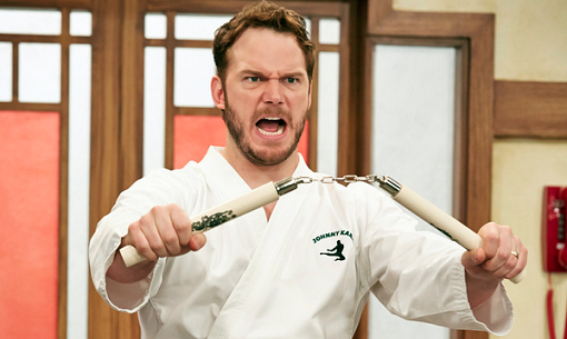 Chris Pratt en Parks and Recreation