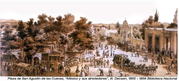 Image result for imágenes de San Agustín de las Cuevas (Tlalpan)