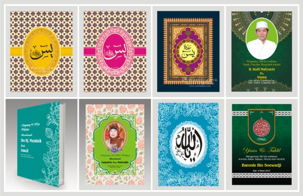 Contoh Desain Cover Buku Yasin Wahid Jaya Buku Yasin Dan