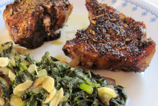 Carolina Sauce Company: Seared Pork Chops with Zesty Italian Seasonings