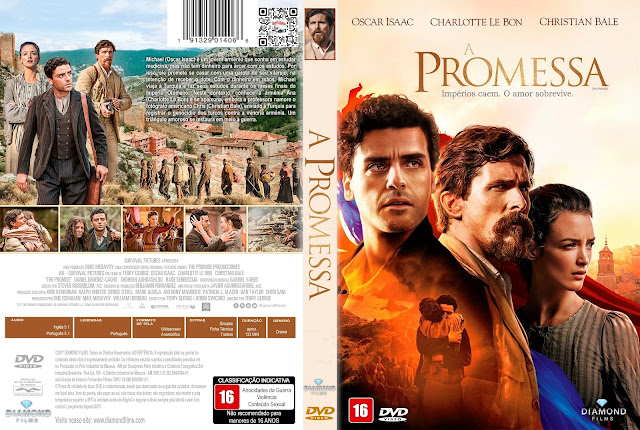 Capa DVD A Promessa [Exclusiva]