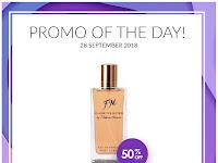 Promo Diskon 50% Parfum Classic Wanita Best Seller FM 17, Hanya Hari Ini Jum'at, 28 September 2018