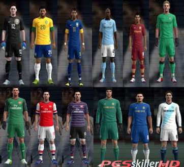 8c5f94ca1ac81d ... files on PES 2013 for the Xbox 360 due to downloadable data packs so I  decided to create my own jerseys instead of importing them from a saved  file.