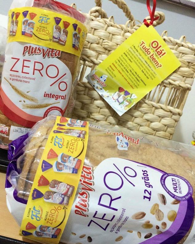 linha de pães Zero% Pullmann e Plus Vita