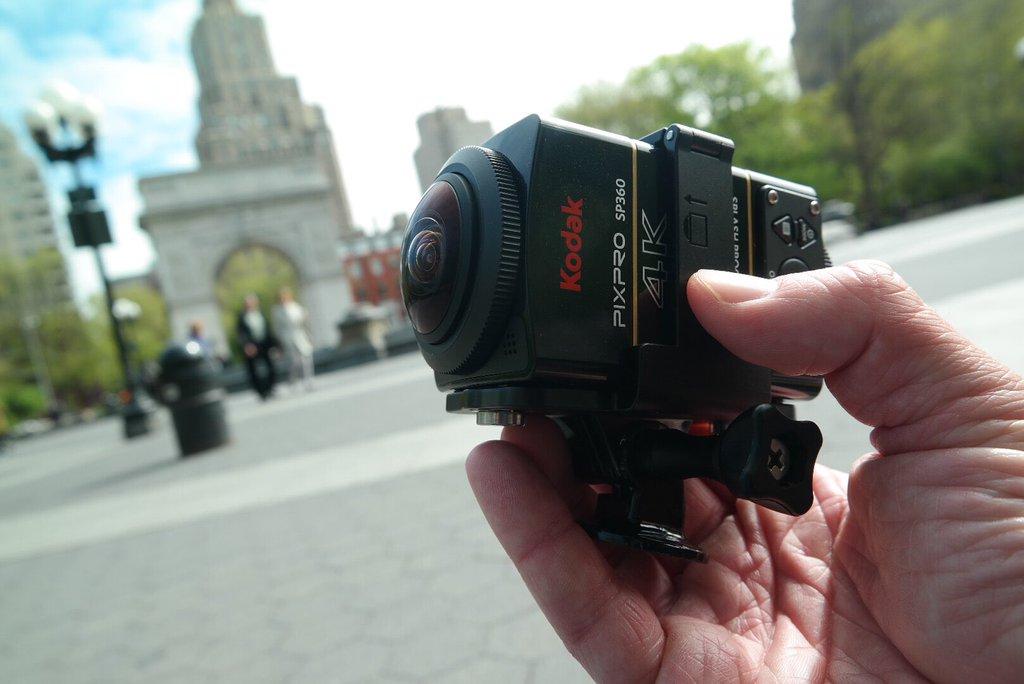 Kodak SP360 4K NYC Video Test