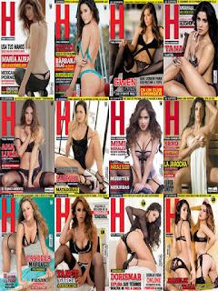 Revista H para Hombres Mexico-Coleccion 2015 PDF Digital