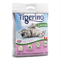 Tigerino Canada Katzenstreu - Babypuderduft 12KG