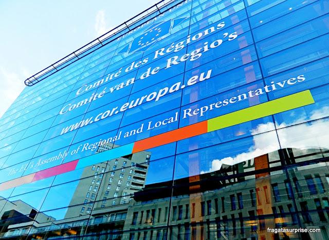 Bruxelas, edifícios da União Europeia