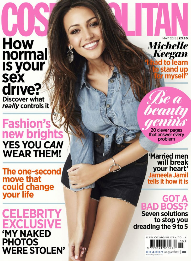 Michelle Keegan In Cosmopolitan Magazine UK May 2015 Issue HD Photos